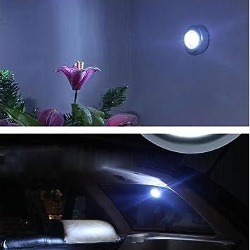 Oyedens 3 LED Wandleuchte Küchenschrank Wandschrank Beleuchtung Aufkleber  Tap Touch Lampe Lampen Touch Nachtlicht Home Küche