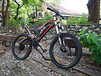 Addmotor HITHOT Electric Bicycle 500W 48V Double Suspension For Mountain 2017 New Design Fashion H5 E-bike