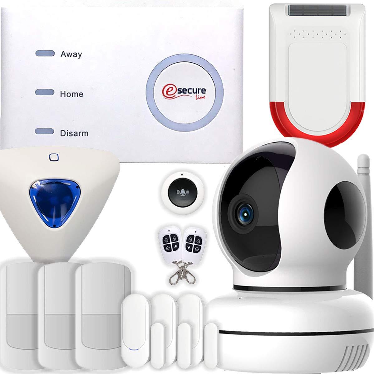 Sistema de alarma WiFi + GSM para casa con cámara wifi ...