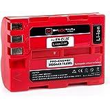 """BAXXTAR PRO ENERGY Batterie de qualité pour Nikon EN-EL3e (2000mAh) avec Info Chip - Système de batterie intelligent """"prochaine génération"""" pour Nikon Nikon D50 D70 D70s D80 D90 D100 D200 D300 D300S D700"""
