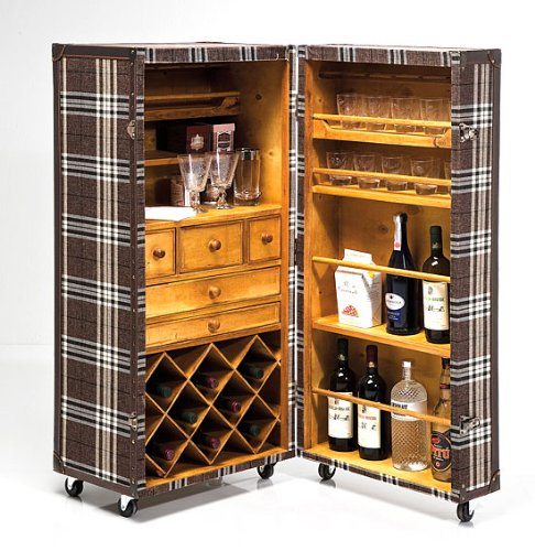 Portobellostreet - Mueble Bar baul Highlands: Amazon.es: Hogar