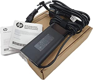 HP 776620-001 Smart AC adapter (150W) - 4.5mm barrel connector, with power factor correction (FPC) - Requires separate 3-wire AC power cord with C5 connector