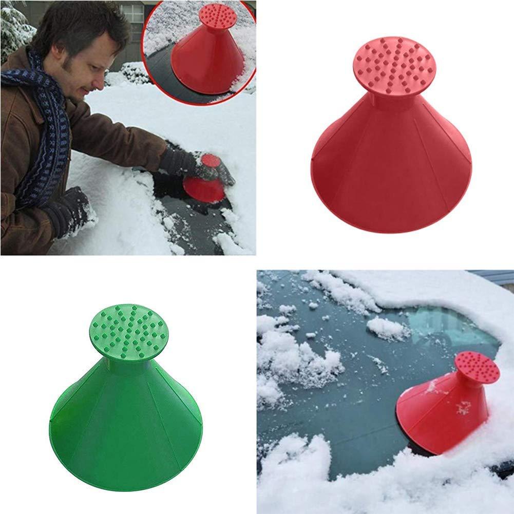 SHIRBLE Magic Cone-Shaped Raschietto per Ghiaccio e Neve