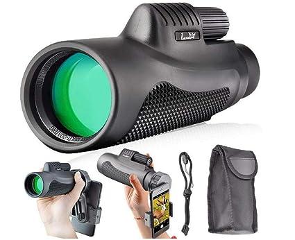 Amazon cto hd lens monocular telescope tripod clip for