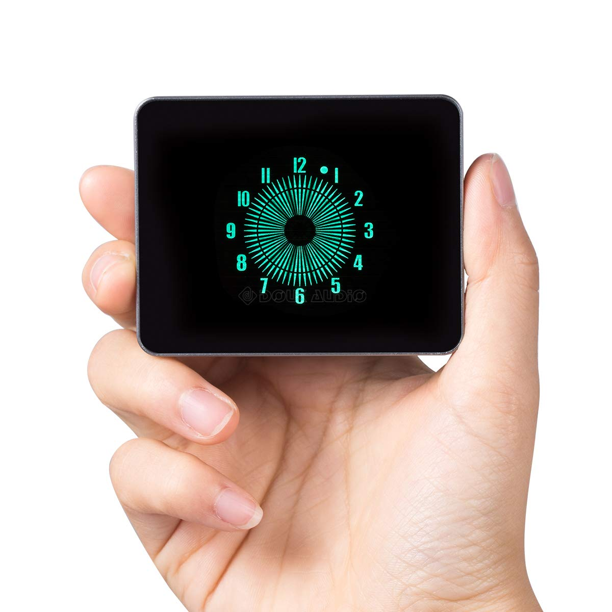 Amazon.com: Douk Audio Nobsound VFD Clock Pointer Clock Nixie Tube ERA Aluminum Case USB Powered Analog-Style: Home & Kitchen