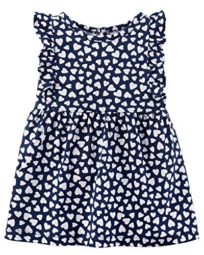 Carter's Baby Girls' Heart Jersey Dress 3 Months