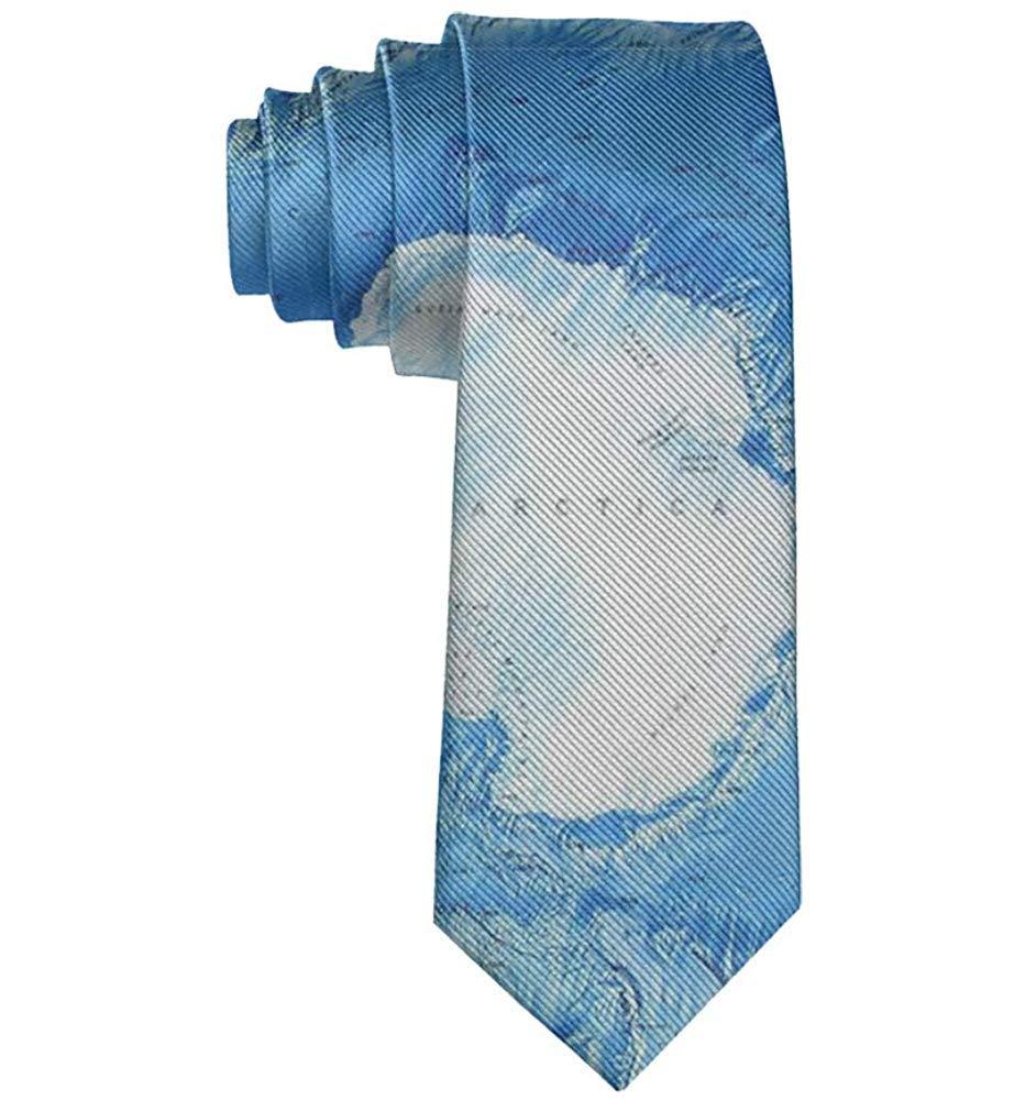 Regalo de corbata para hombre Polo Sur Antártida Polo: Amazon.es ...