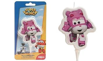 Vela Dizzy superwings - cumpleaños Decoración Pastel - 806 ...