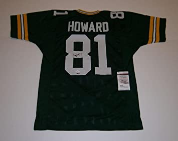 4f679826f Autographed Desmond Howard Jersey - custom  81 COA - JSA Certified -  Autographed NFL Jerseys