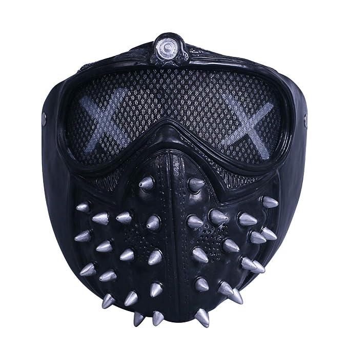 laest technology 100% Qualität absolut stilvoll BFJ Game Watch Dogs 2 Cosplay Mask Marcus Holloway Mask ...