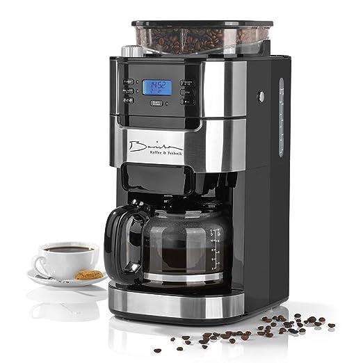 Barista - Cafetera de filtro de acero inoxidable con ...