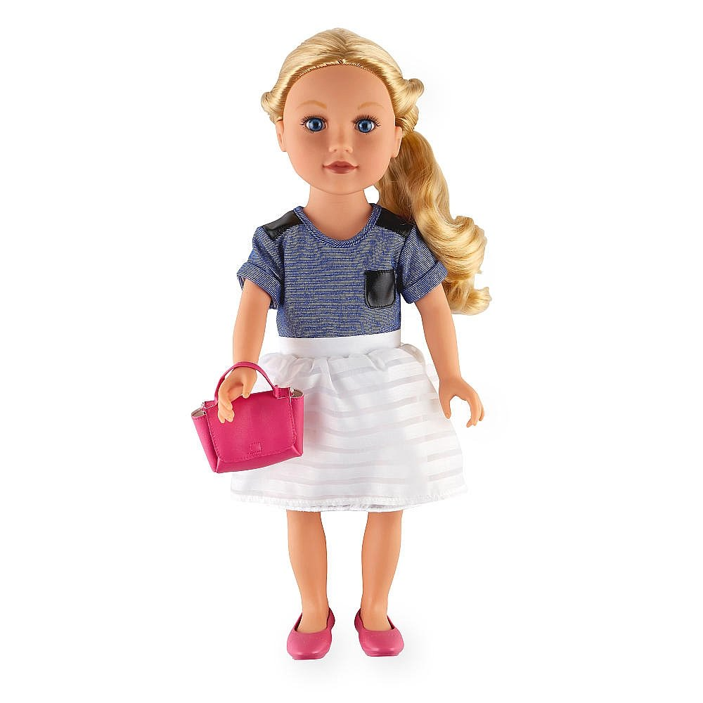 Amazon Com Journey Girl Meredith Doll 18 Inch Blond Blue Eyes Toys