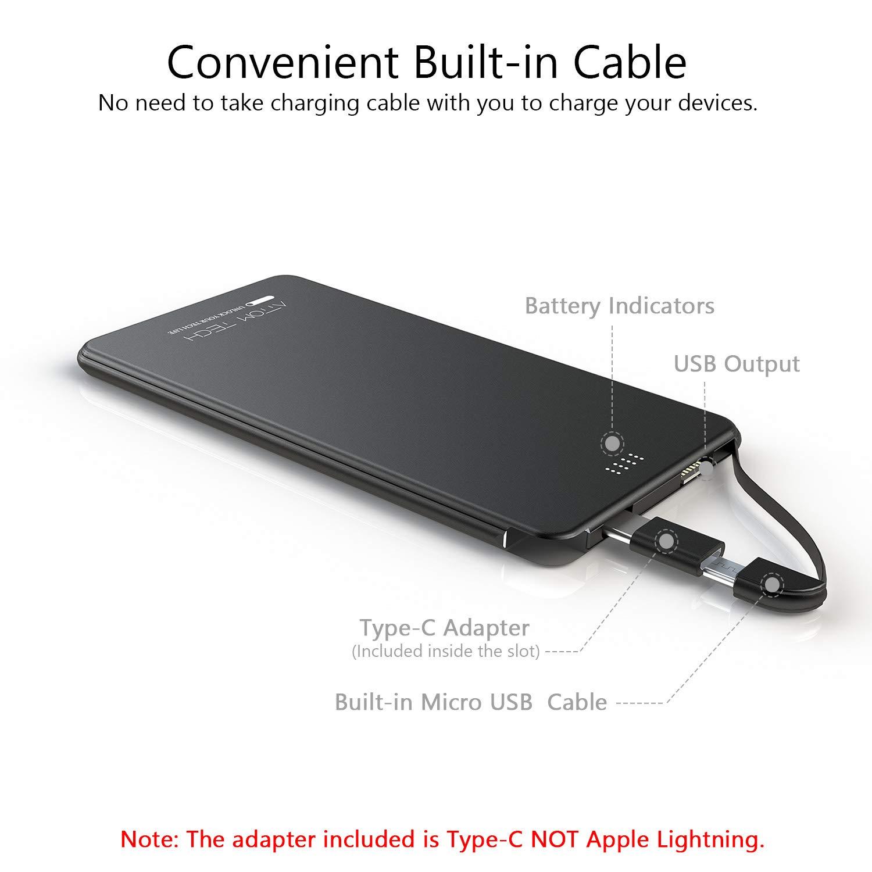 Amazon.com  Slim Power Bank Ultra Thin ba1841e2a