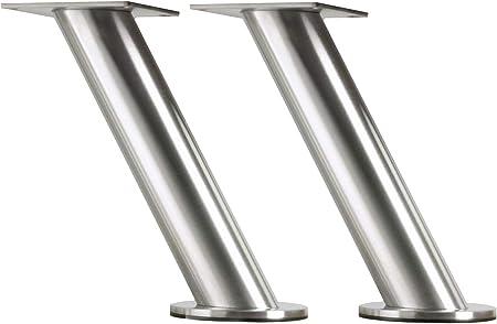 Set di 2 consolle da bar in acciaio INOX Ikea Capita IKE-400.511.96