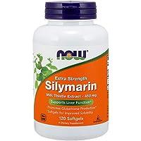 NOW Foods - La silimarina Cardo Mariano Estratto supplementare forza 450 mg. - 120Softgels