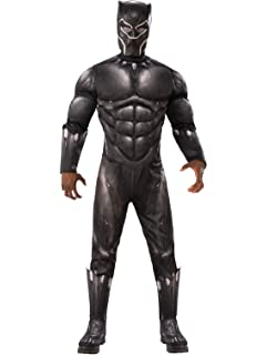 Amazon.com: Rubies Marvel Black Panther disfraz de lujo ...