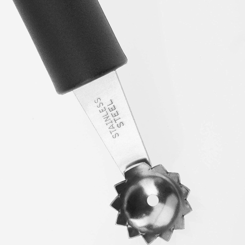 24,5 x 7,4 x 3 cm Acier Inoxydable Westmark 29262270 Girolle Gallant Noir//Rouge