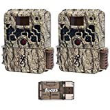 Browning Trail Cameras Strike Force Extreme 16 MP Game Cameras (2X) and Focus USB Reader For Sale