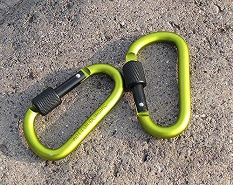 Carabiner Spring Clip Hook Keychain Keyring Climbing Hiking Key Clip,..,.,.