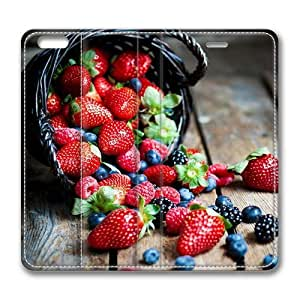 Berries In Basket Macro Smart Case Cover with Back Case for Apple iPad Air