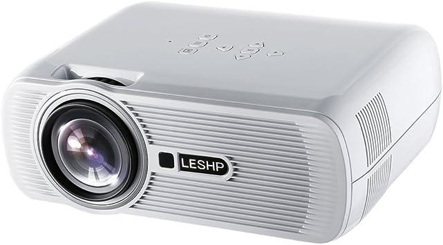 Mini proyector, leshp Actualiza lisiert LED - Proyector, 1300 ...
