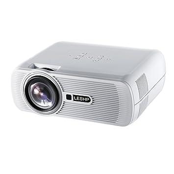 Mini Proyector, Multimedia Vídeo Proyector LCD de 1200 ...