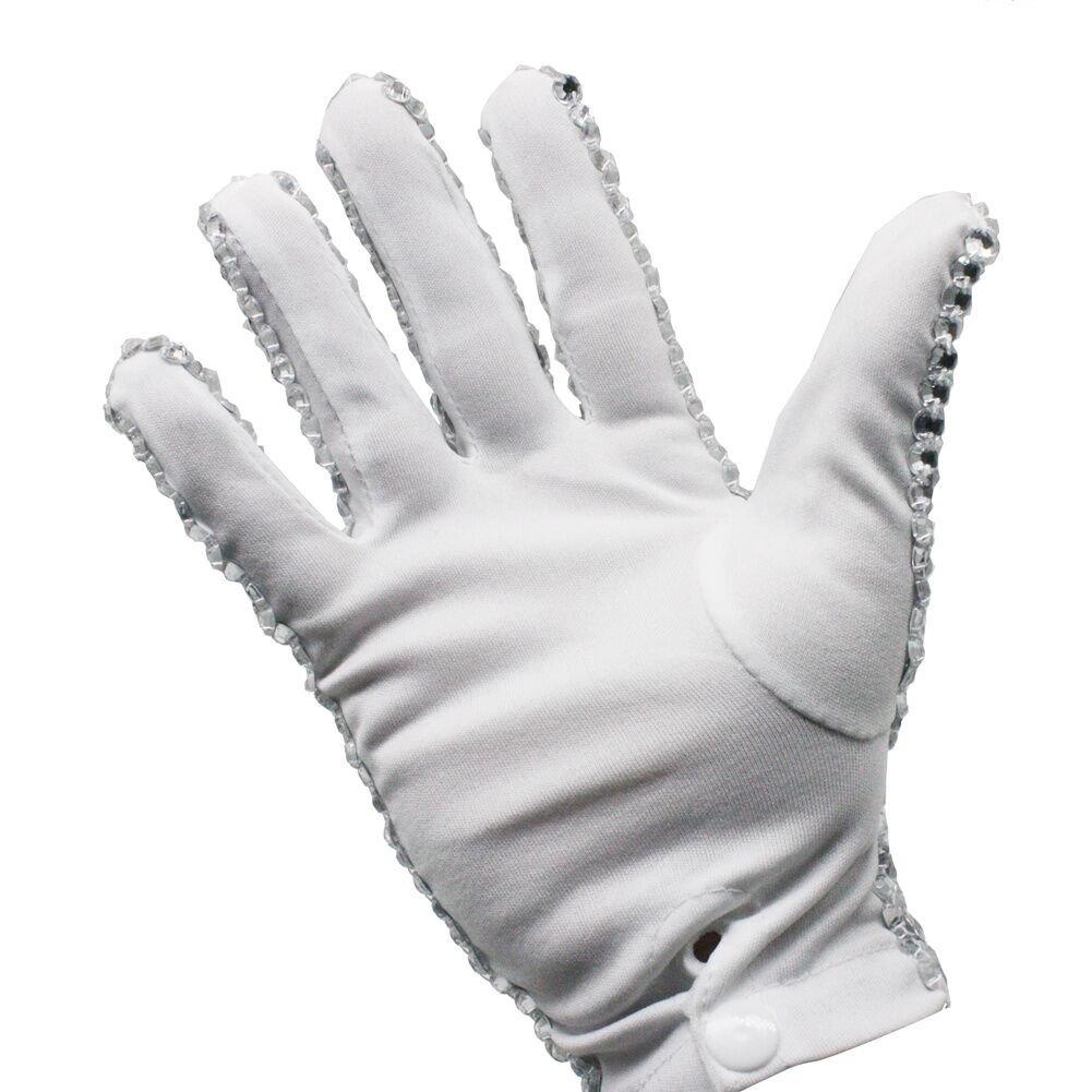 Michael Jackson Glove Collection Diamond Shining Crystal Billie Jean Glove