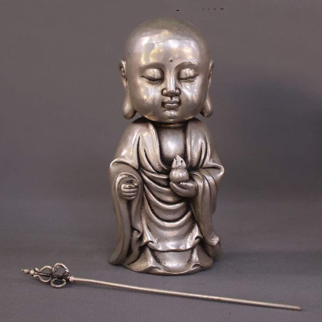 LXYFMS Tibet Tibetan Buddhism Temple Silver Dig Buddha Buddha Buddha Statue Crafts by LXYFMS (Image #7)