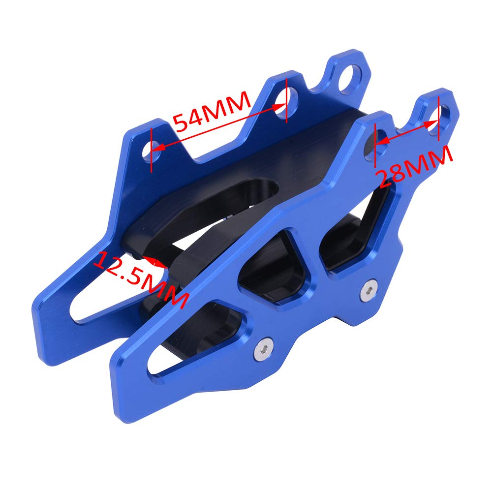AnXin Motorcycle Chain Guide Guard Protection CNC For YAMAHA YZ125//250 08-19 YZ250F 07-19 YZ450F 07-19 YZ250X 16-19 WR250F 07-19 WR450F 07-18 YZ250FX 15-19 YZ450FX 16-19