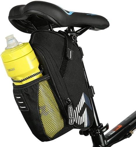 Bolsa para sillín de bicicleta, bolsa de almacenamiento para ...