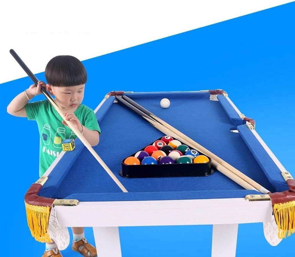 Junior mesa de billar niños, los niños portátil mesa de billar billar Por Juvenil Familia deporte tabla juego for niños niñas de fútbol Juego de Mesa diversión del juego (Tamaño: 91x43x54cm) LOLDF1: