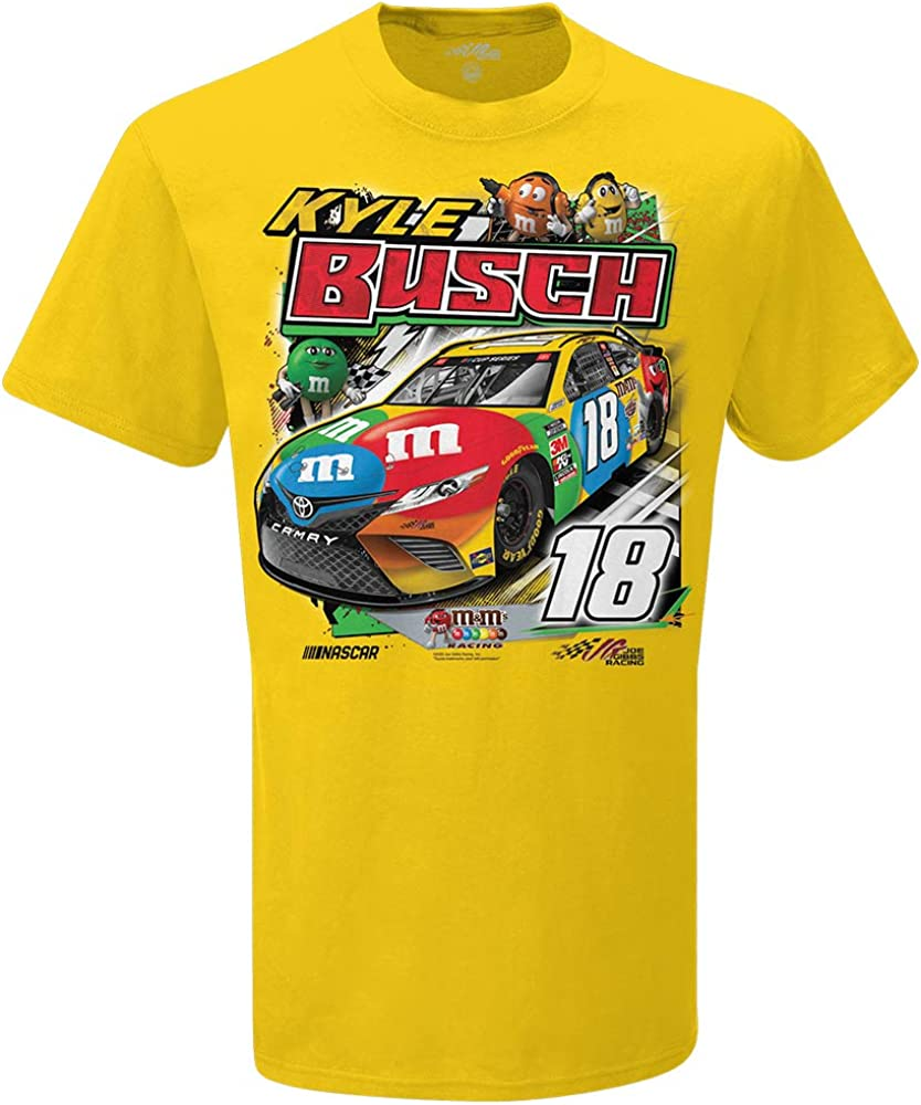 Smashem Sports Kyle Busch Yellow M/&M