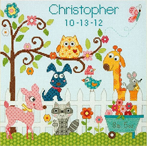 Dimensions Needlecrafts Counted Cross Stitch, Happi Backyard