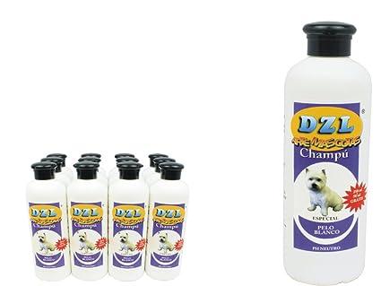 Champú pelo blanco 750 ml. para perros y gatos: Amazon.es: Hogar