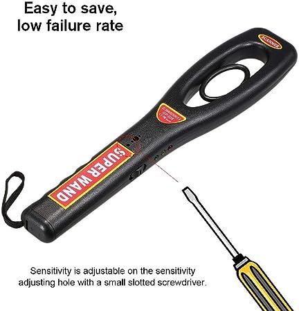 PKA - Detector de Metales Plegable (Alta sensibilidad): Amazon.es: Hogar