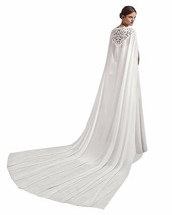 Kengtong Châle - Femme - Blanc - 250 cm  Amazon.fr  Vêtements et ... 34c756d0684