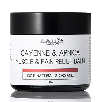 Amazon.com: 100% natural Cayenne Arnica Y El Dolor Muscular ...