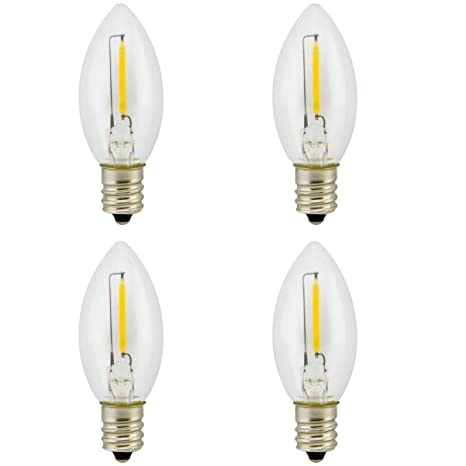 Landlite Bombillas LED con forma de vela