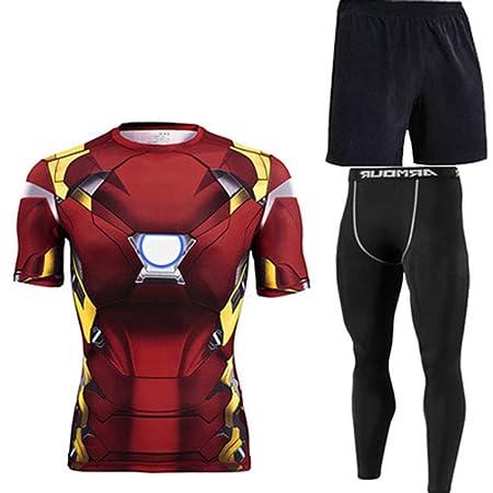 T-SHIRT BOY Hombres Camiseta de la Aptitud, Impresión 3D Super ...