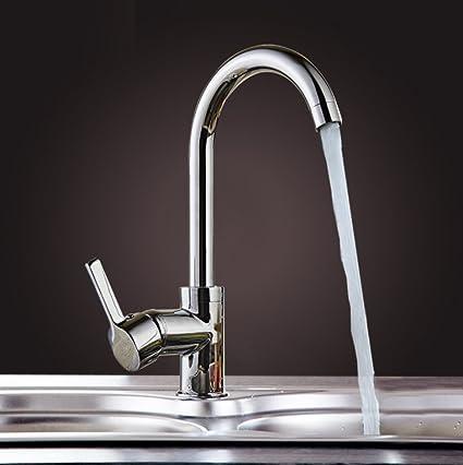 Amazon.com: Kitchen Sink Taps,Kitchen taps mixer high pressure,all ...