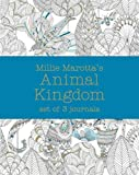Millie Marotta's Animal Kingdom - journal set: 3 notebooks (Colouring Books)