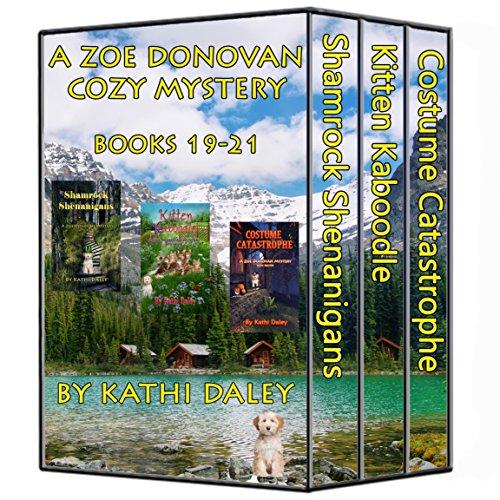 Zoe Donovan Boxed Set Books 19 - 21 (Cat Dog Halloween)