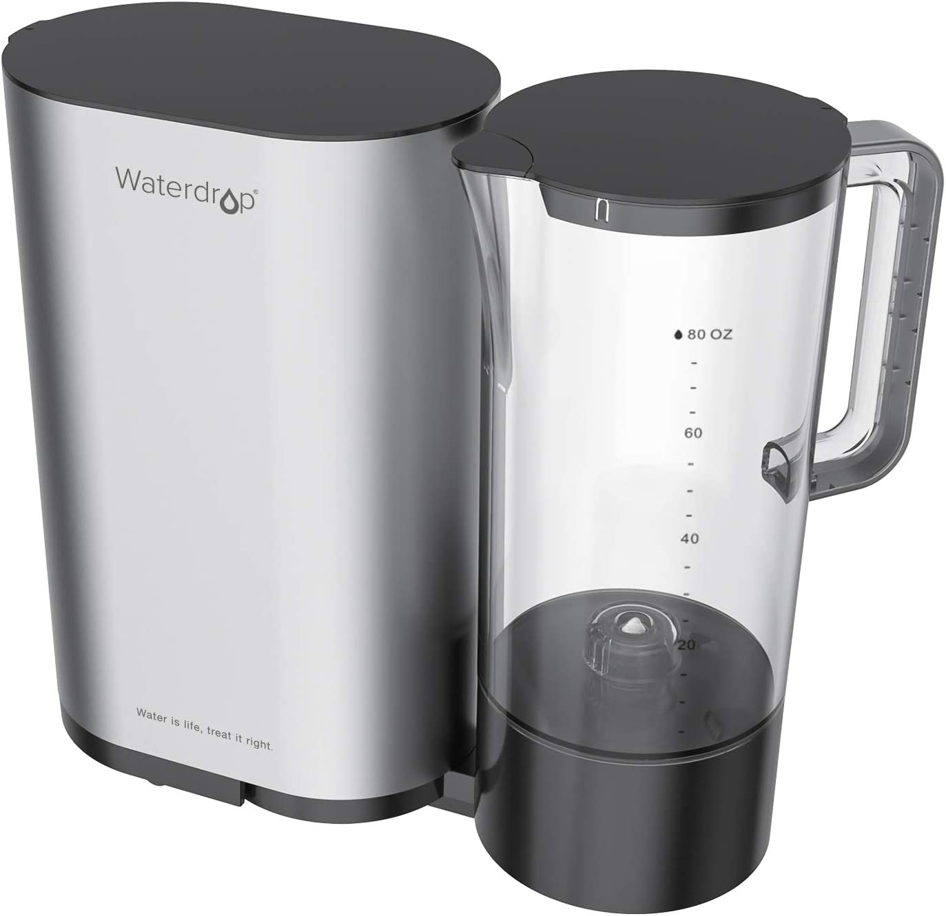 Waterdrop Reverse Osmosis System With water pitcher