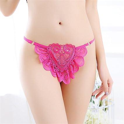 Baron W.H Bragas de Las Señoras Sexy Ropa Interior Transparente Respirable Transpirable Mujeres Cintura Baja Sexy