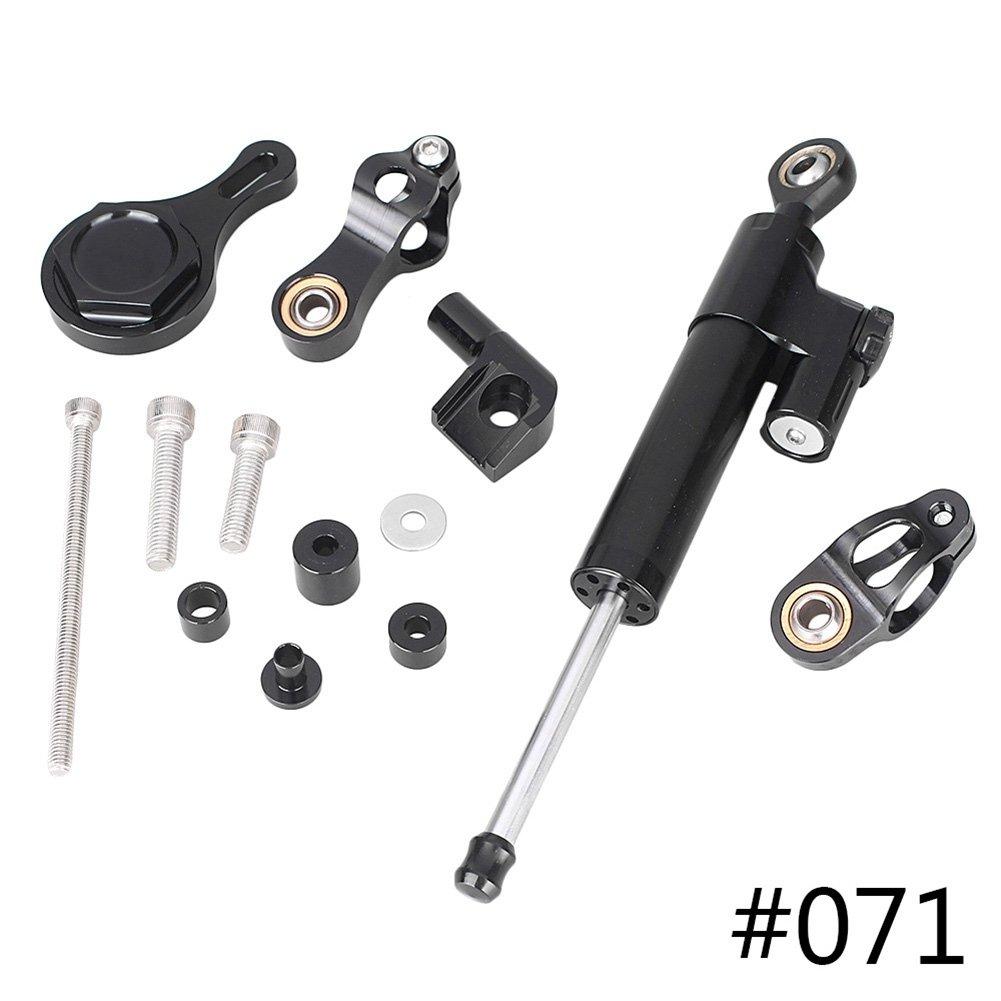 GZYF Steering Damper Stabilizer Bracket for Yamaha YZF R1 R6 06 07 08 09 10 11 12 13
