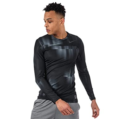 8f6dd4ac333c8 Image Unavailable. Image not available for. Color  NIKE Pro Hyperwarm Men s Long  Sleeve Training Top ...