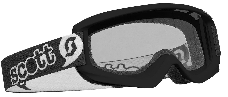 Black 7172 Scott Pee Wee Agent Mini Youth Goggles
