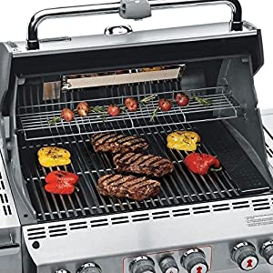 Weber Summit 7270001 S-470 Stainless-Steel 580-Square-Inch 48,800-BTU Natural-Gas Grill