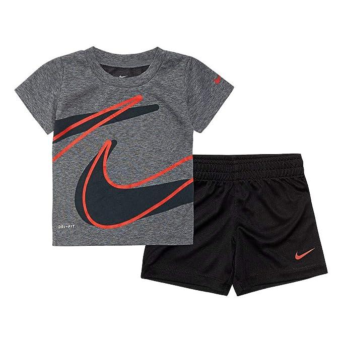 Mitad de precio modelado duradero elige auténtico Amazon.com: Nike Dri-Fit - Conjunto de pantalón corto de 2 ...