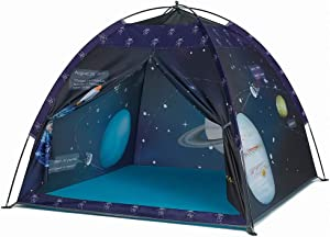 "Space World Play Tent-Kids Galaxy Dome Tent Playhouse for Boys and Girls Imaginative Play-Astronaut Space for Kids Indoor and Outdoor Fun, Perfect Kid's Gift- 47"" x 47"" x 43"""